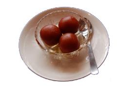 インドのデザート グラブジャムーン(Gulab jamun)