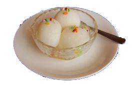 インドのデザート ラスグッラ(Rasgulla)