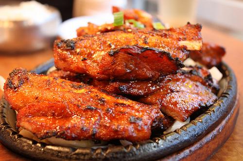 インド料理 人気ナンバー1 タンドリーチキン(tandoori chicken,तंदूरी मुर्ग़, )