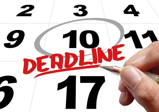 利用期限や締め切りを示す(Indicate expiration date and deadline)