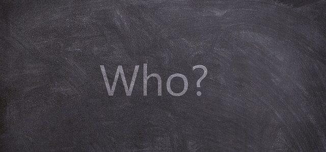 ターゲットは誰? (Who is the target ? )